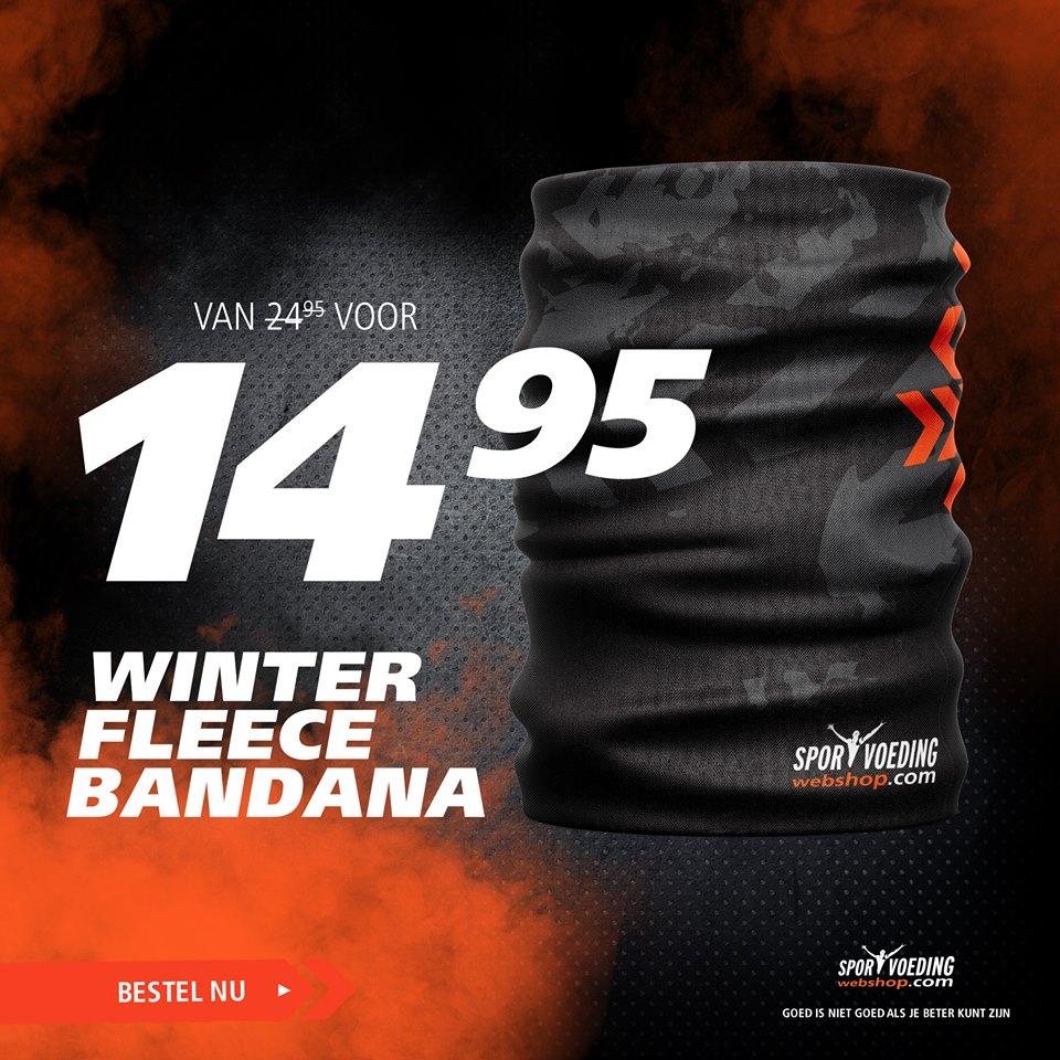 de winter fleece bandana buff
